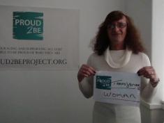 "Rebecca is ""Proud2Be transgender woman"""